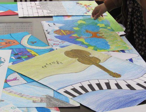 293 niños Pintaron la Música